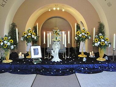 Urnenfeier Friedhof Grohn