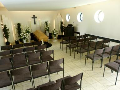 Innenansicht Trauerkapelle