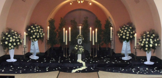 Urnenbeisetzung in Kapelle Grohn
